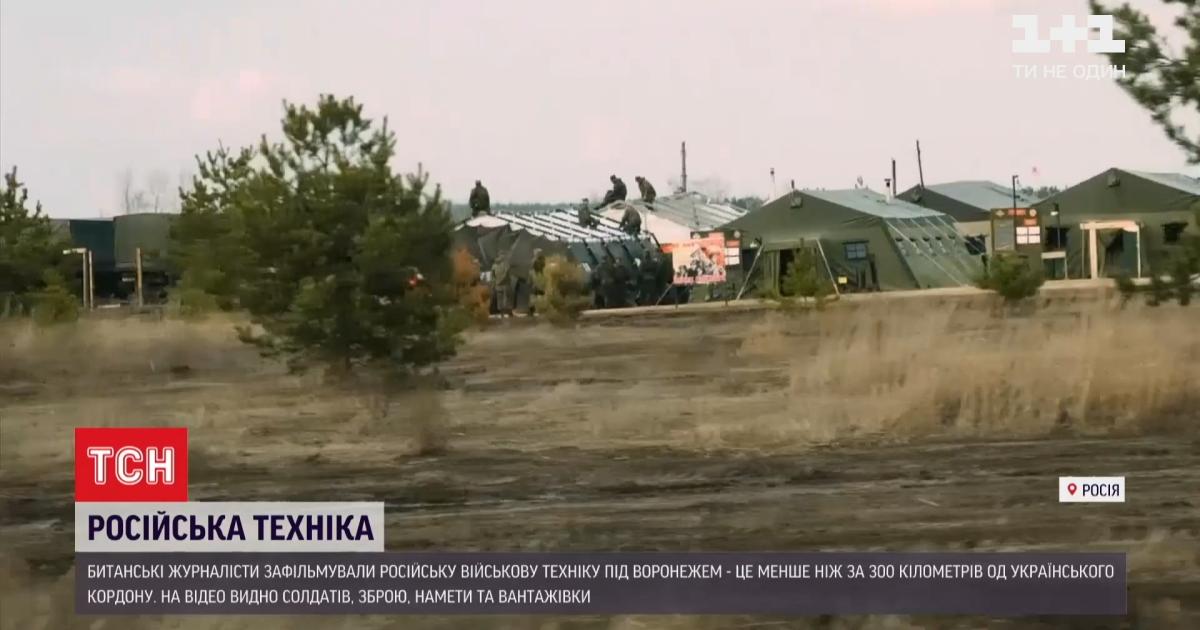 300 км від українського кордону: журналісти відзняли масштабний російський військовий табір неподалік Воронежа