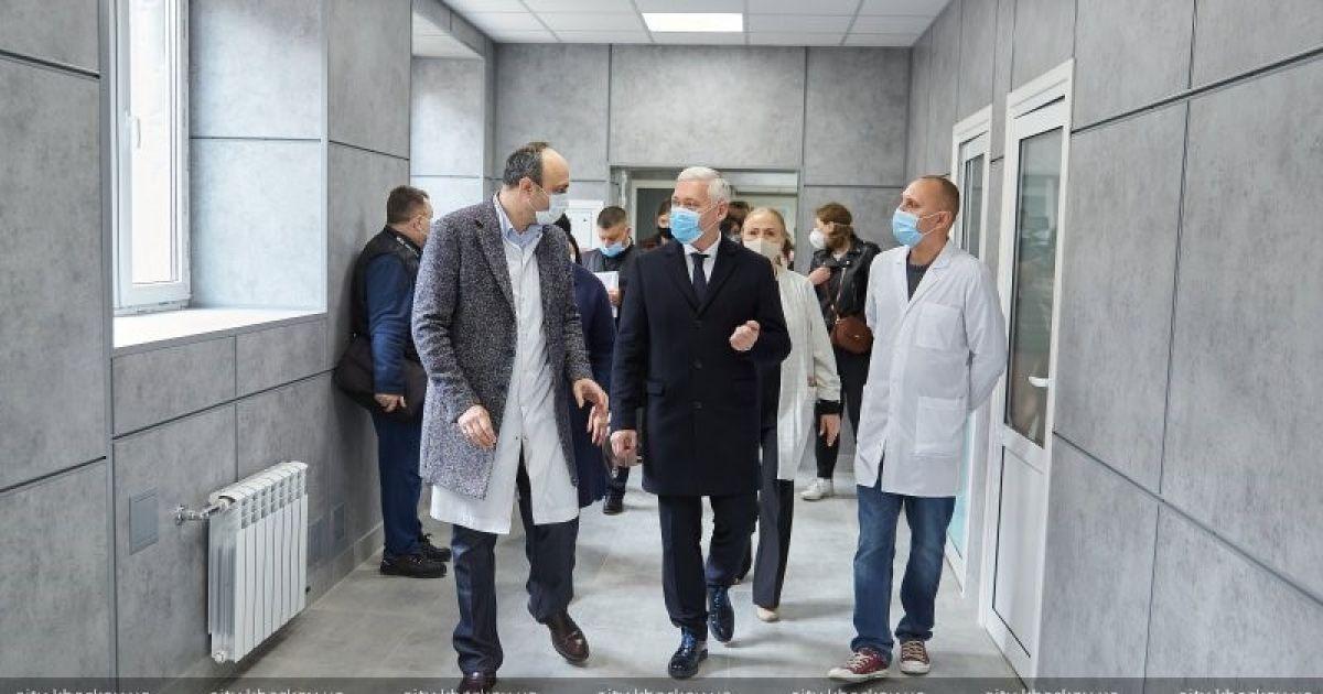 Терехов: У Харкові розгорнули ще одне відділення для хворих на коронавірус