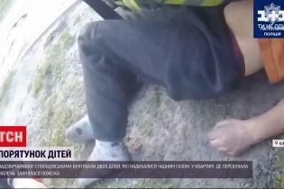 Новости Украины: в Киеве спасли двух детей, отравившихся угарным газом во время пожара