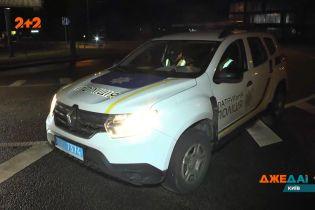 В Киеве произошла авария: зачинщиком трощи стал водитель припаркованного авто