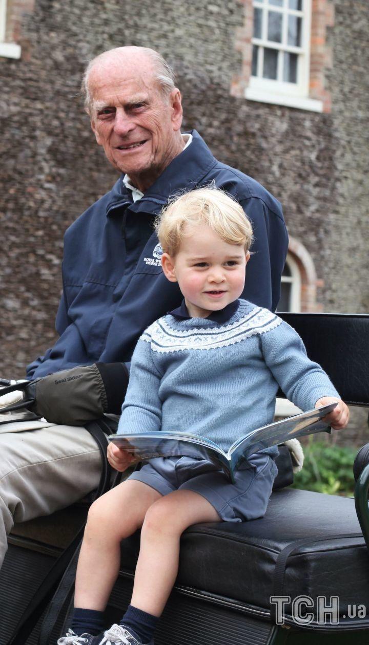 Принц Филипп и принц Джордж