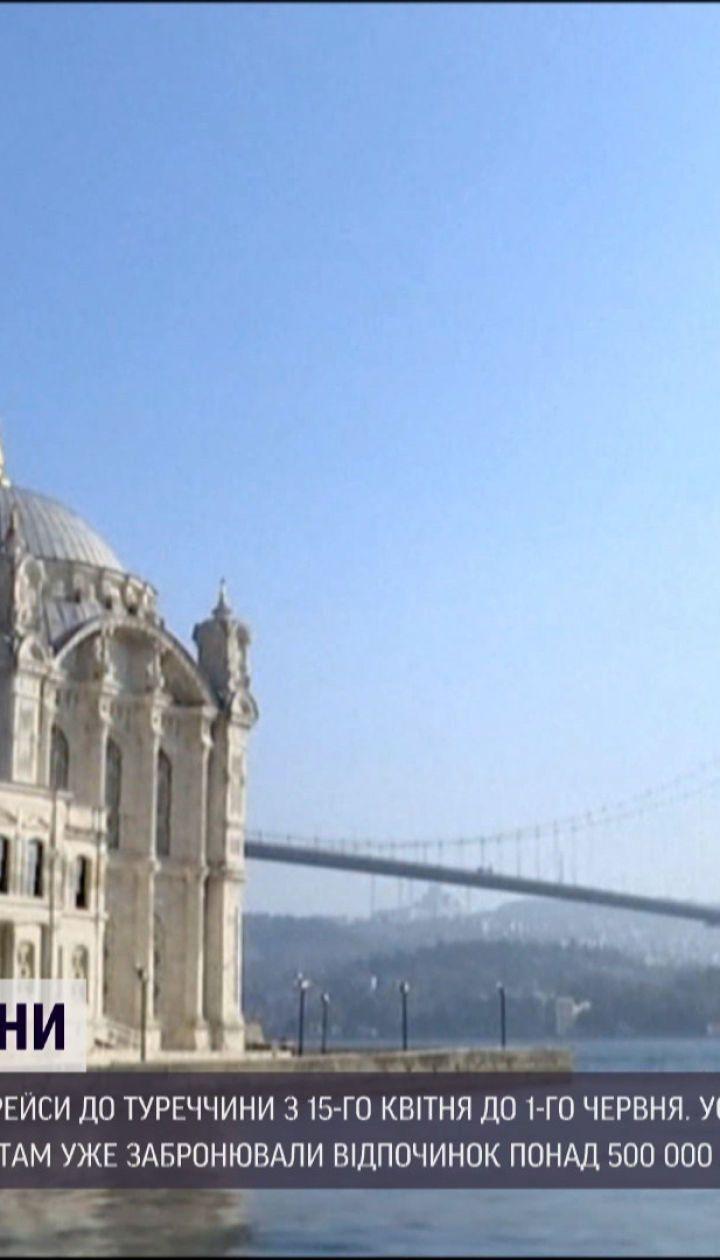 Новини світу: Росія призупиняє рейси до Туреччини