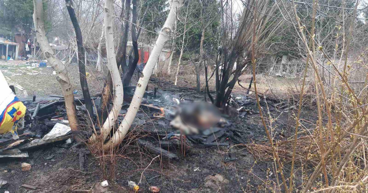 Во Львове во время пожара в заброшенном здании нашли тело молодой женщины