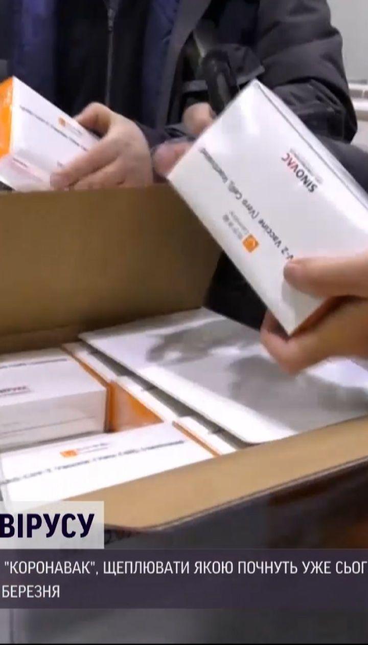 Новини України: поліцейські та маломобільні групи населення першими отримають вакцину CoronaVac