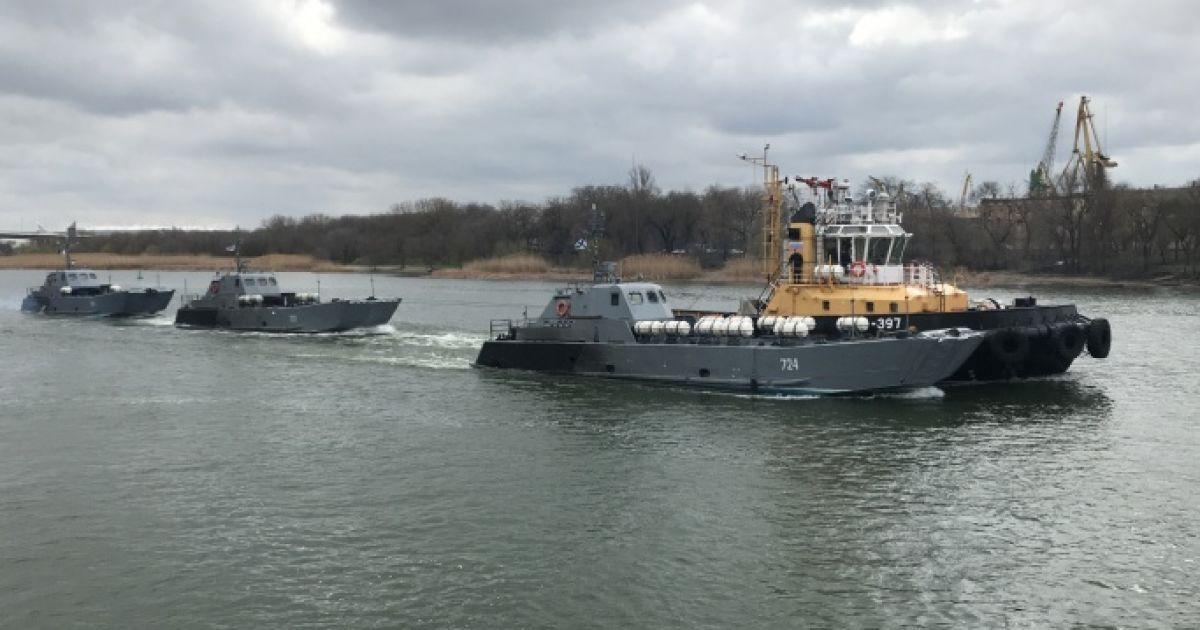 Кораблі РФ Каспійської флотилії вже минули Ростов і направляються до Азовського моря