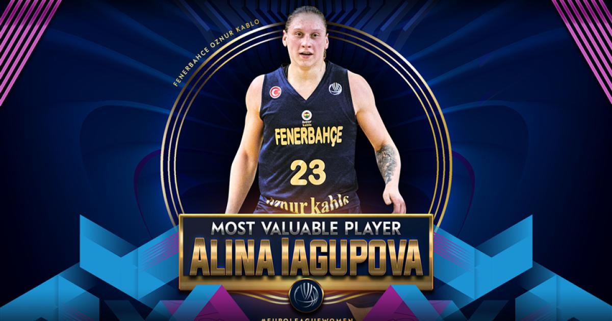 Украинка Ягупова второй раз подряд признана лучшей баскетболисткой Евролиги
