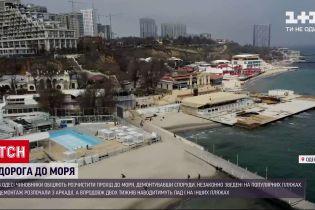 Новости Украины: в Одессе запрещенные капитальные здания начали появляться прямо на песке