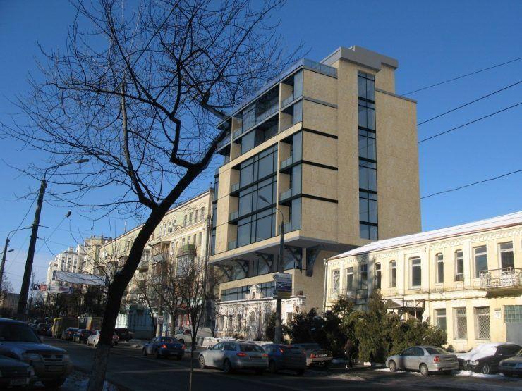 Проєк багатофункціональної адмінбудівлф на місці особняка Баккалинського