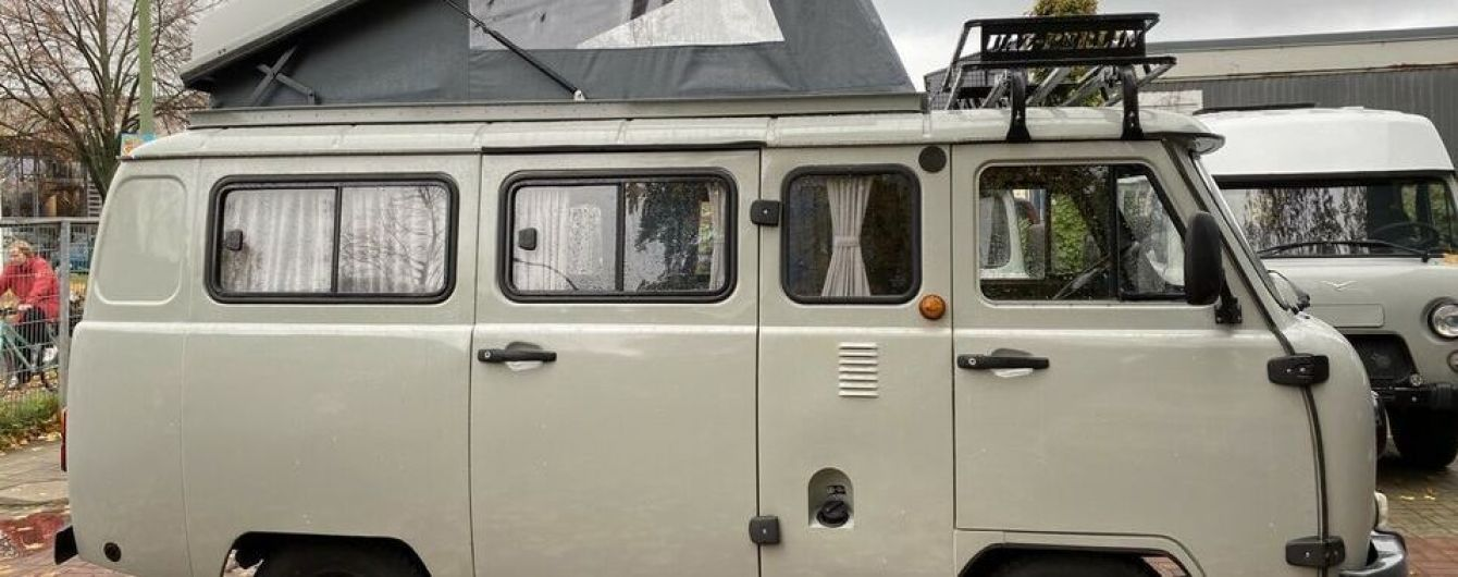 """У Німеччині продають УАЗ """"Буханку"""" з наметом: ціна неабияк дивує"""