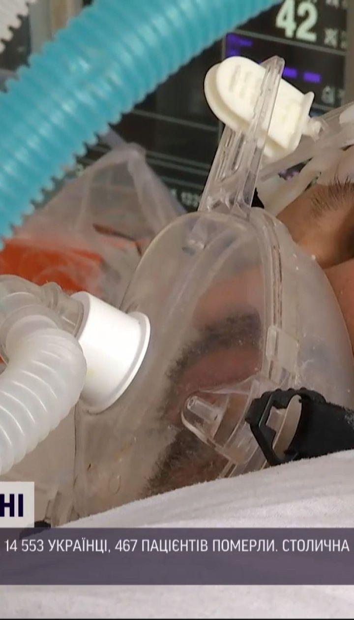 Новини України: показник смертності від коронавірусу лишається високим
