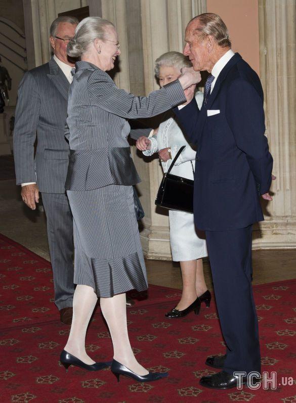 Королева Маргрете II и принц Филипп_1