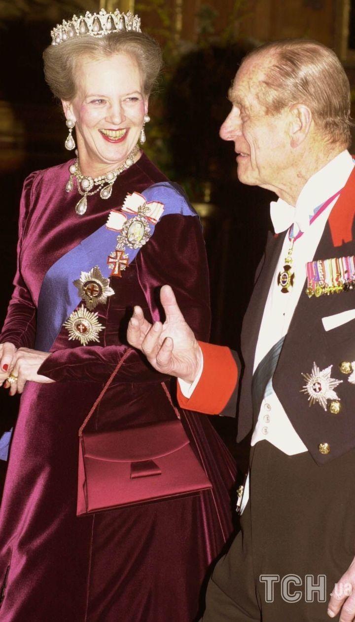 Королева Маргрете II и принц Филипп