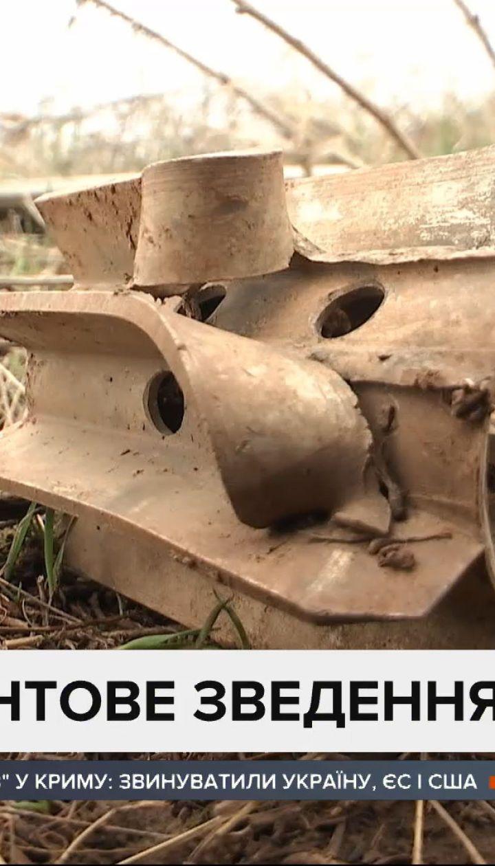 Звіт штабу ООС: біля Майорська окупанти скинули гранати по наших оборонцях