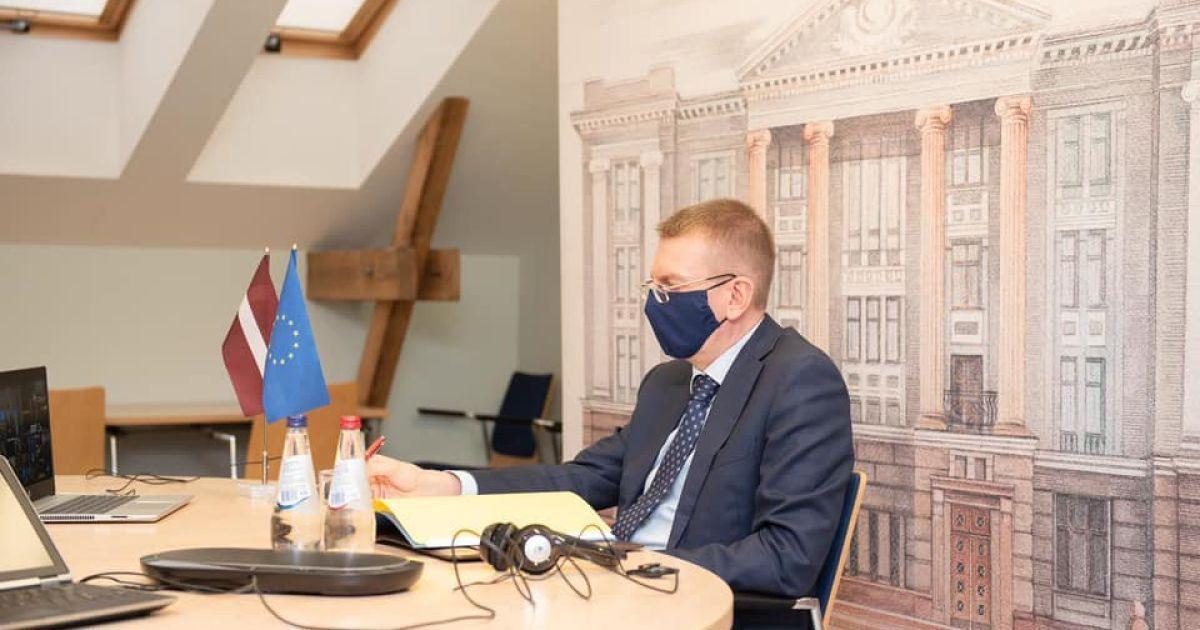 Санкції та будь-яка зброя: очільник МЗС Латвії розповів, що може отримати Україна від ЄС та НАТО