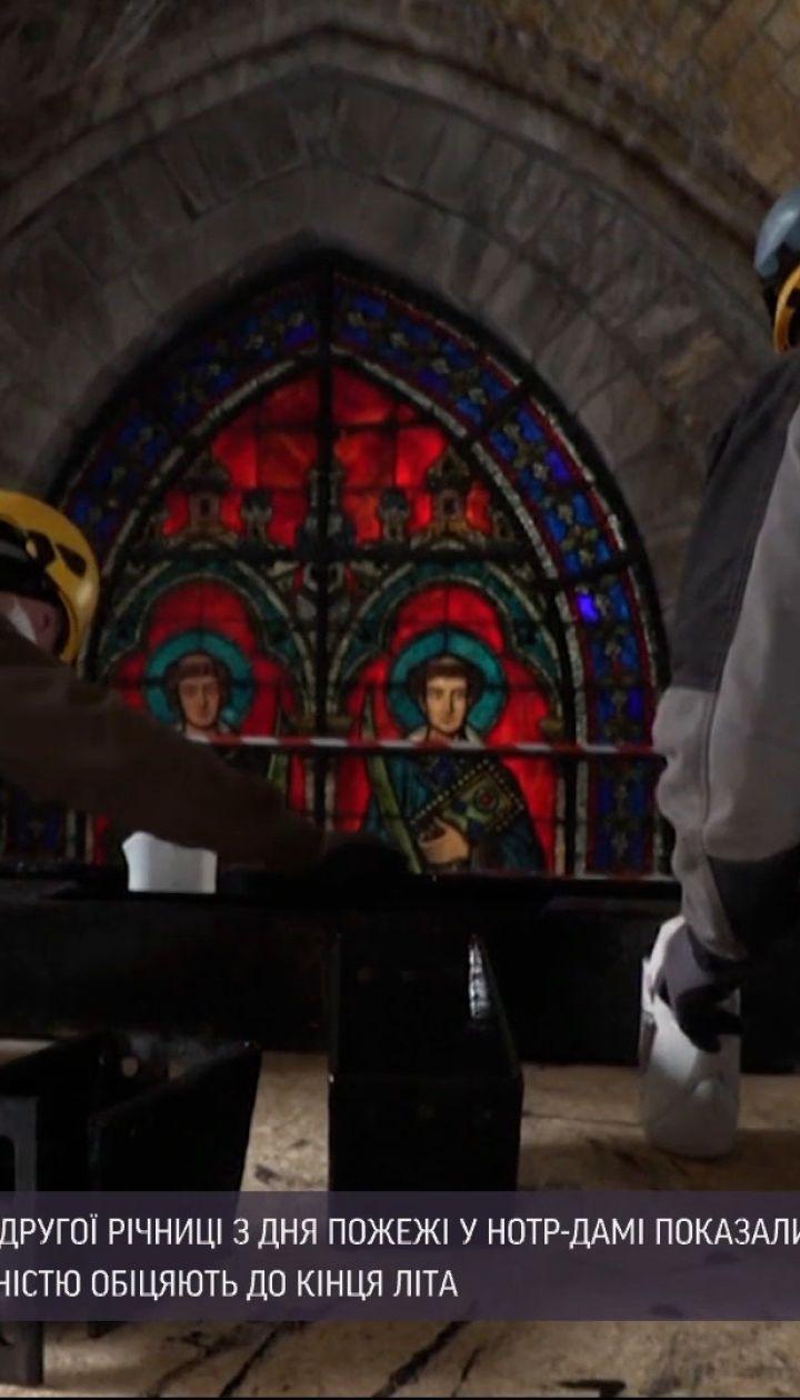 Новости мира: французские реставраторы отчитались о ходе ремонта в Нотр-Даме