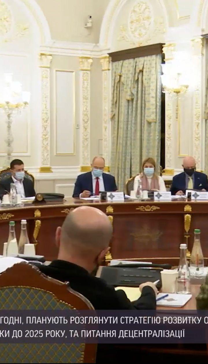 Новини України: РНБО має розглянути стратегію розвитку оборонно-промислового комплексу