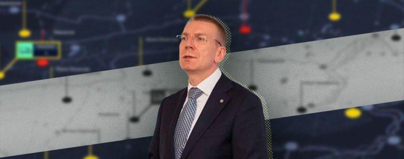 Від створення спільного простору з Китаєм першим лузером стане сама Росія: інтерв'ю з очільником МЗС Латвії
