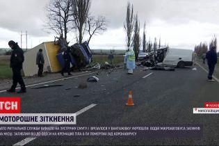 Новости Украины: под Николаевом произошло ДТП с участием авто ритуальной службы