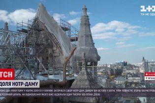 Новости мира: как происходит реконструкция Нотр-Дама
