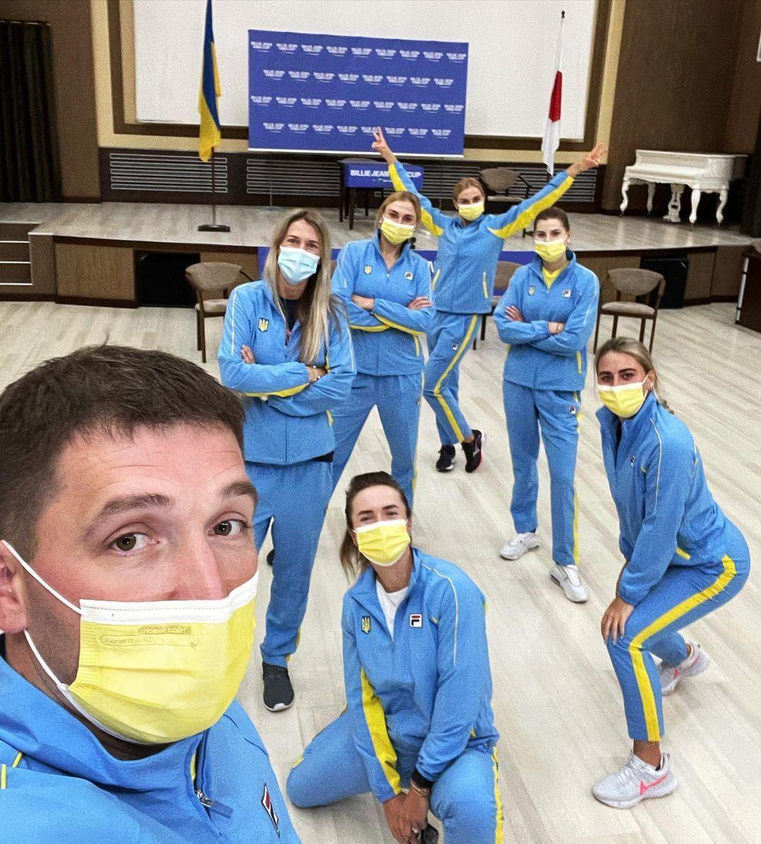 Тенісна збірна України