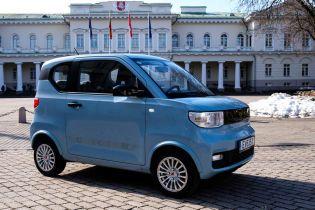 Литовці презентували найдешевший електромобіль в Європі