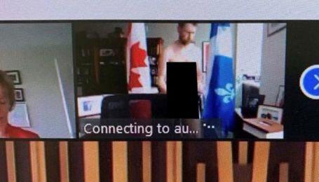 Засветил гениталиями на фоне флагов и пытался прикрыться телефоном: в Канаде депутат появился голым на онлайн-заседании
