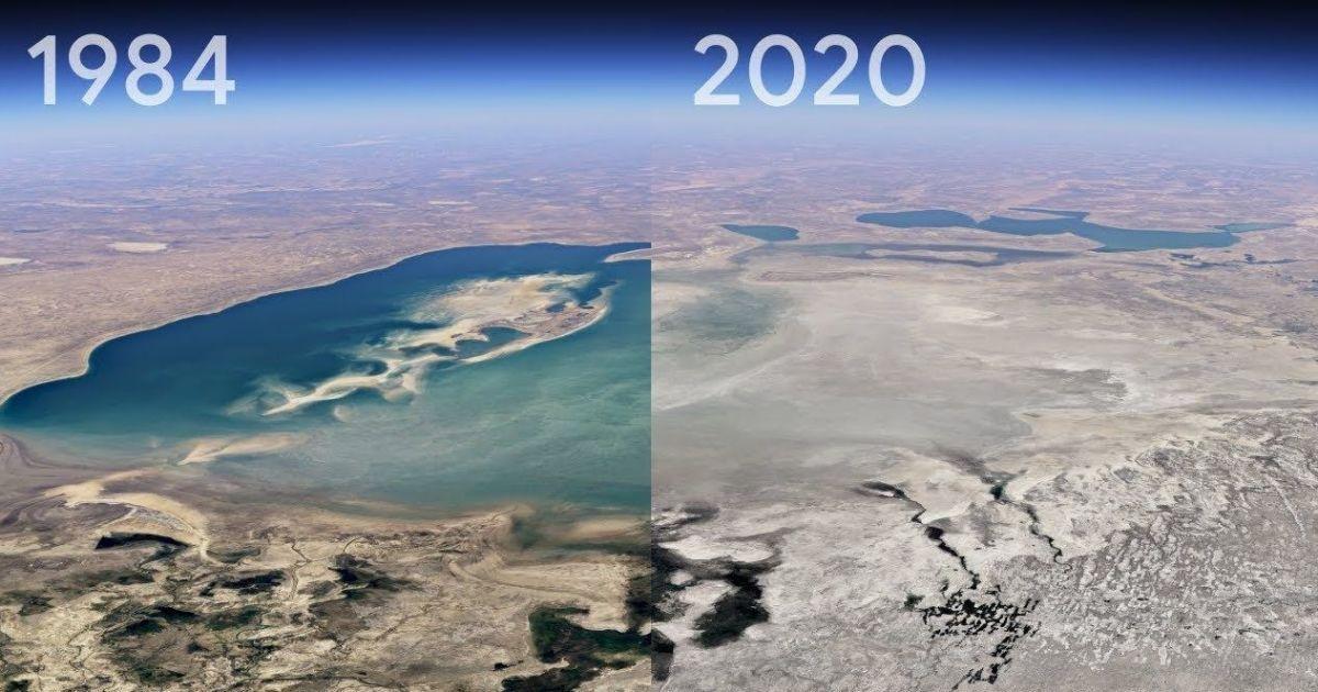 Google Earth показав, як змінилася Земля за останні 37 років в 3D-форматі: відео