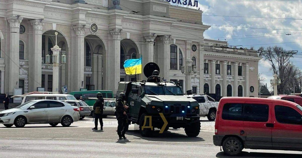 В Одесі на вулицях помітили бронемашини з кулеметами: проводяться антитерористичні навчання