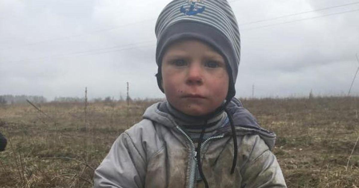 Родину дворічного знайди із Київської області  взяли на облік: батьку загрожує штраф