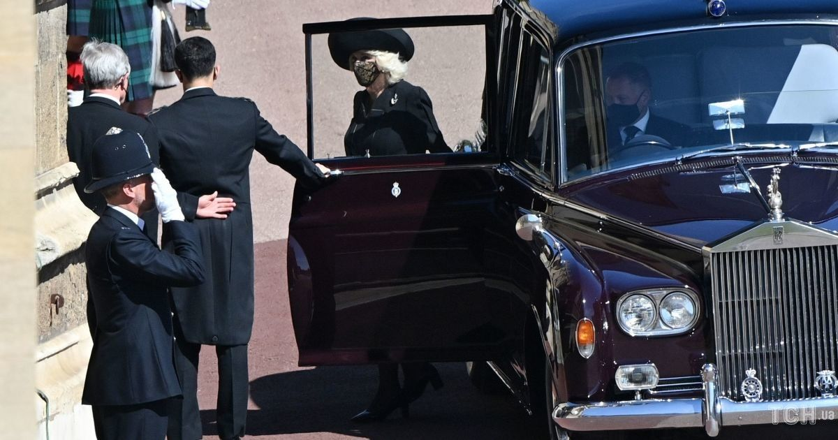 Похорон принца Філіпа: герцогиня Корнуольська і принц Чарльз прибули до Віндзора