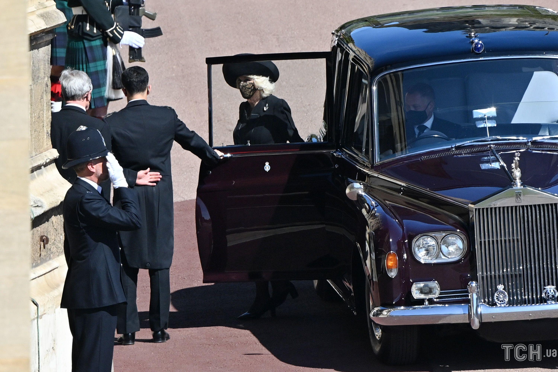 Герцогиня Камилла и принц Чарльз