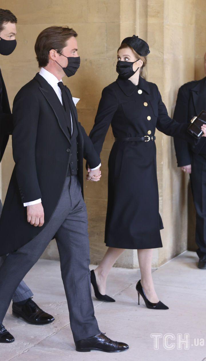 Принцесса Беатріс и Едоардо Мопеллі-Моцци