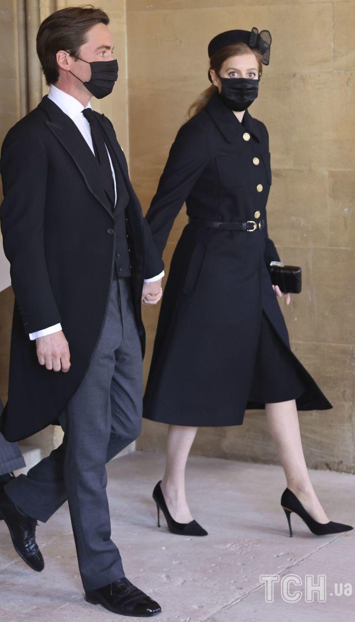 Принцесса Беатрис и Эдоардо Мопелли Моцци