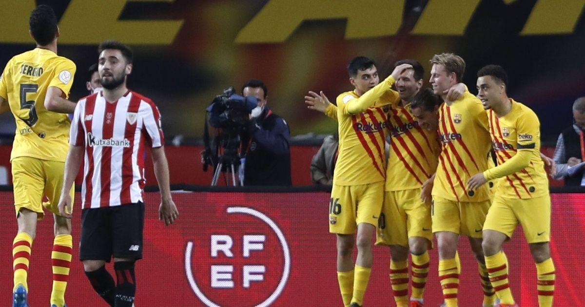 """Перший трофей Кумана: """"Барселона"""" розгромила """"Атлетік"""" і виграла Кубок Іспанії (відео)"""