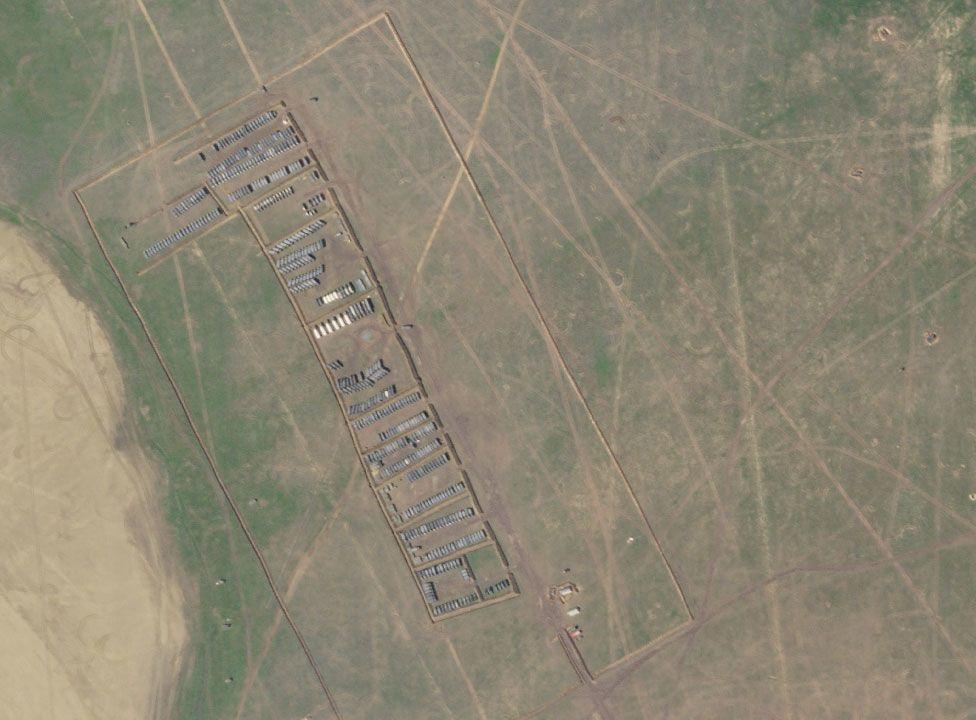 крим військовий табір