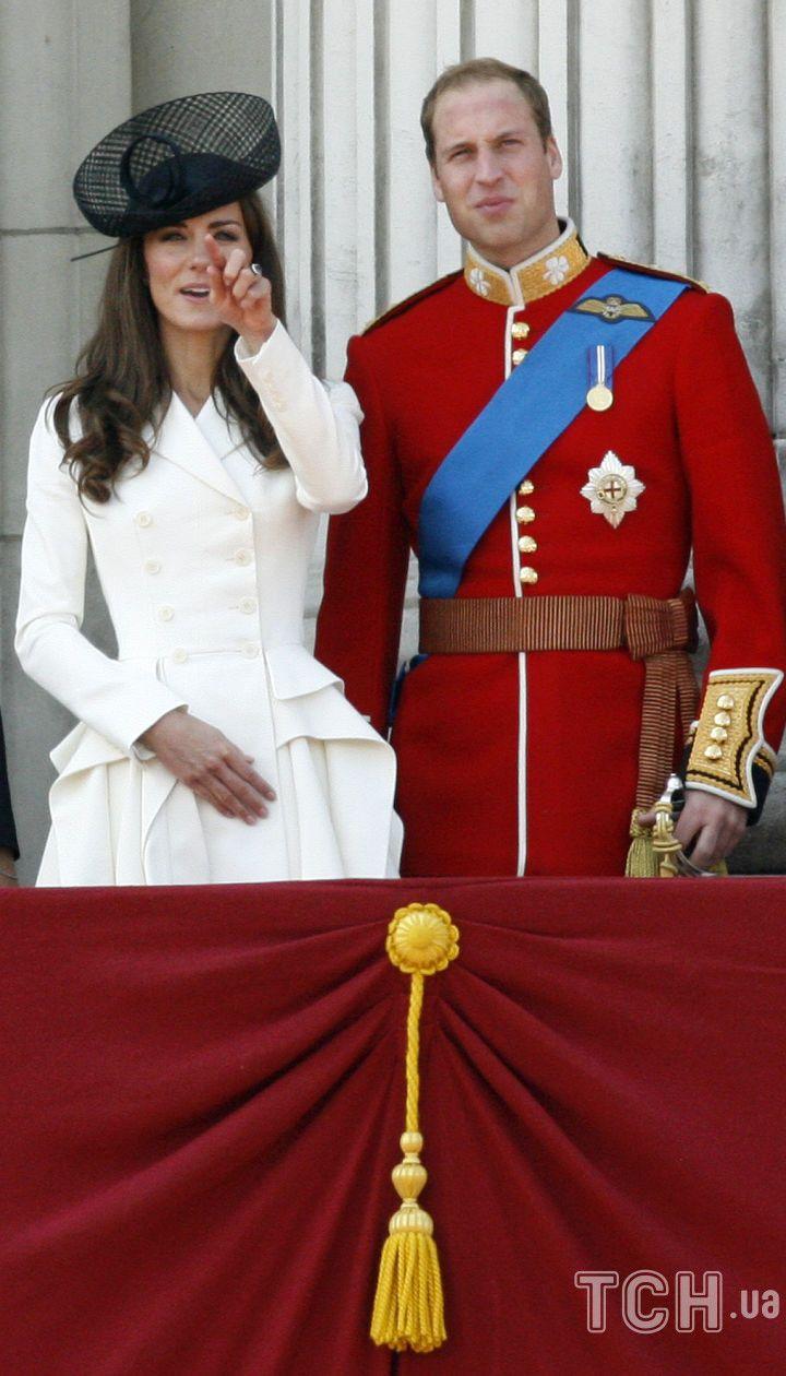 Кейт и Уильям на 85-летнем юбилее Елизаветы II