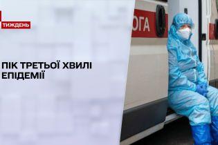 Новости недели: в Украине начался пик третьей волны пандемии коронавируса
