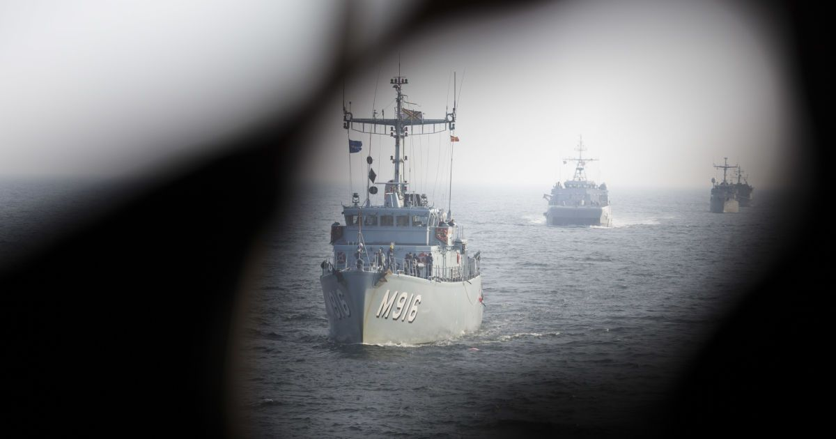 У Балтійському морі розпочинаються навчання НАТО, які будуть наймасштабнішими за всі роки