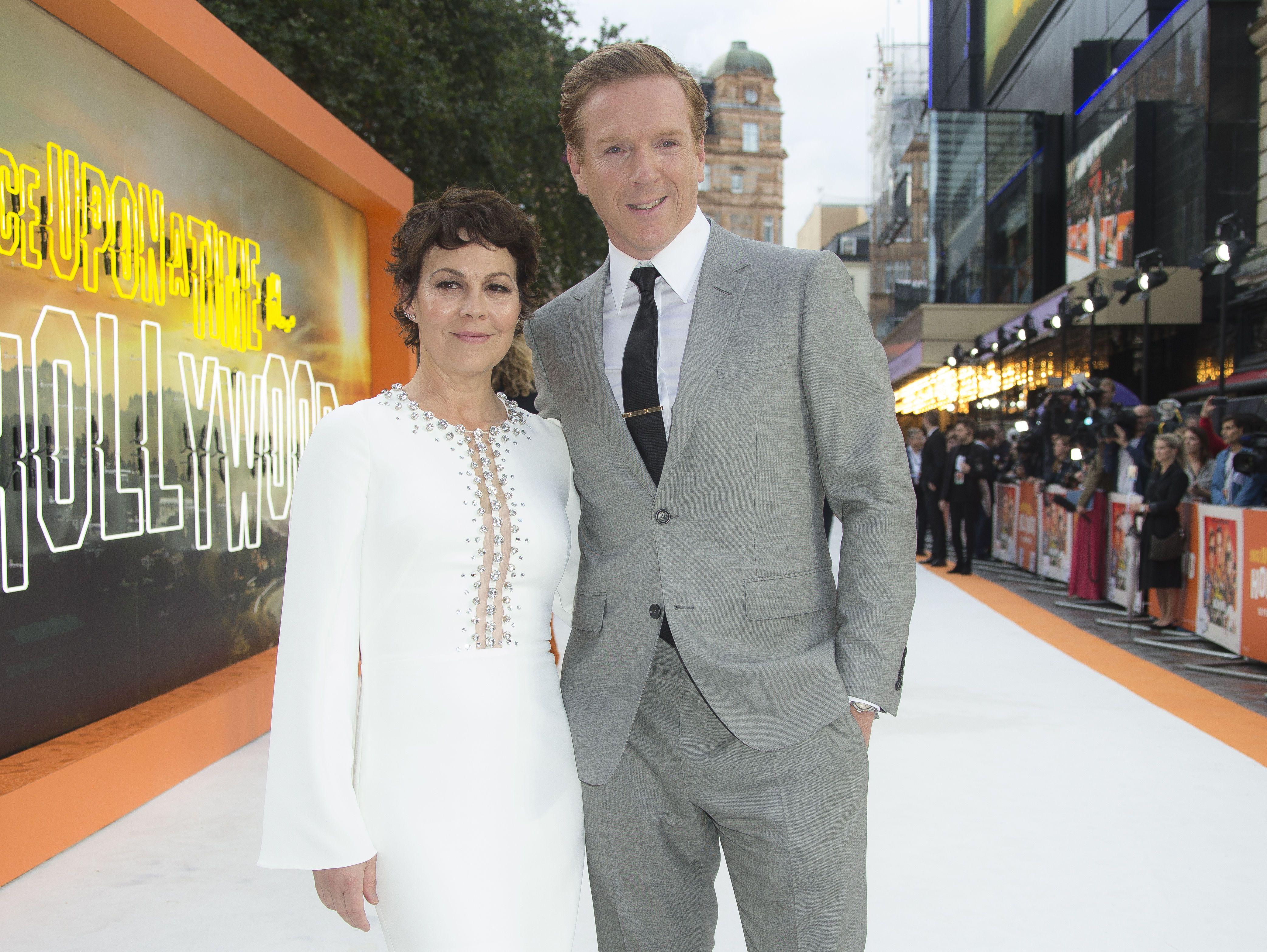 Гелен МакКрорі з чоловіком