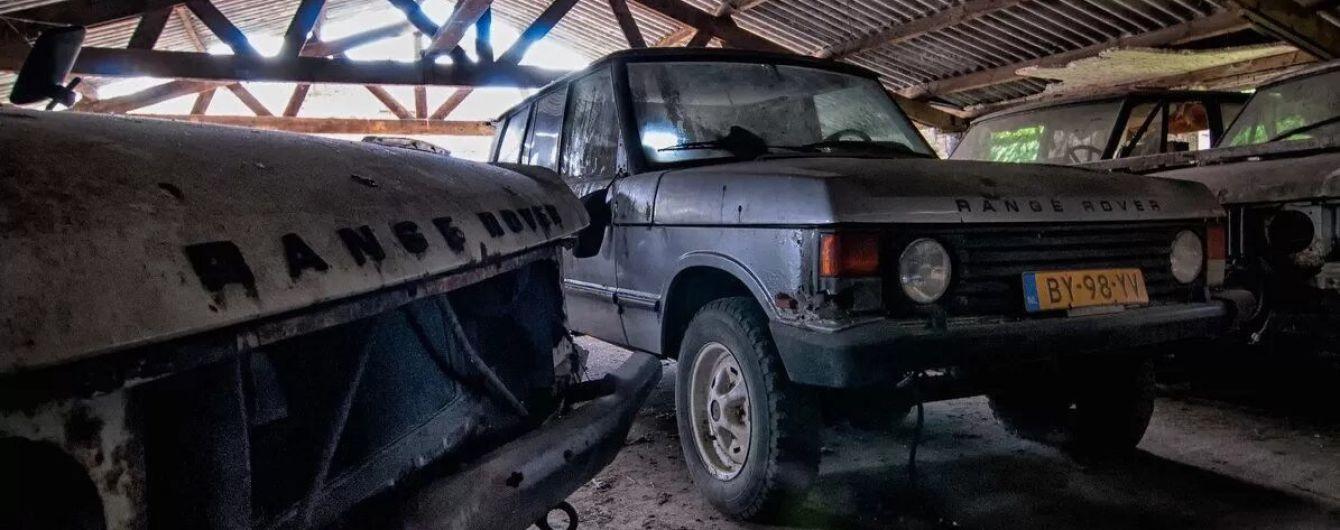 У Нідерландах виявили сарай із унікальними Range Rover