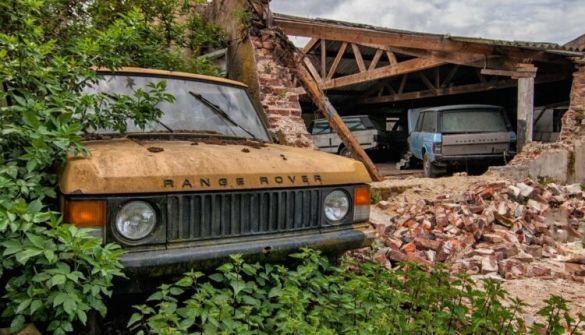 Покинута колекція Range Rover
