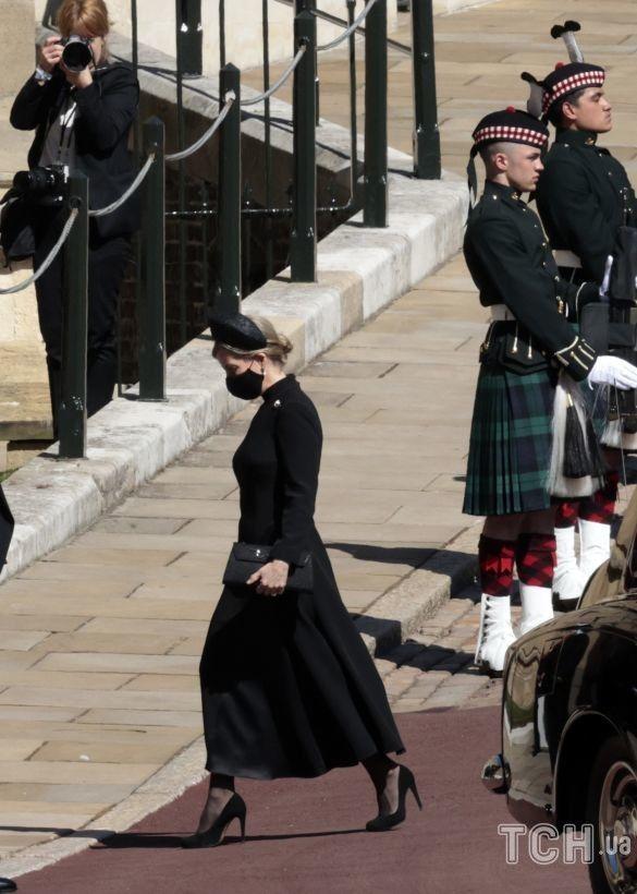 Королевские дамы на похоронах принца Филиппа_1