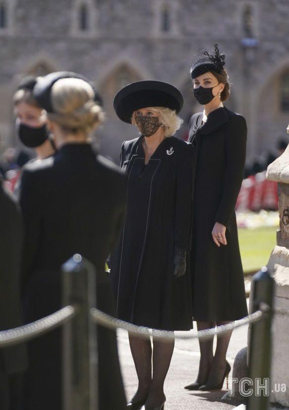 Королевские дамы на похоронах принца Филиппа_2