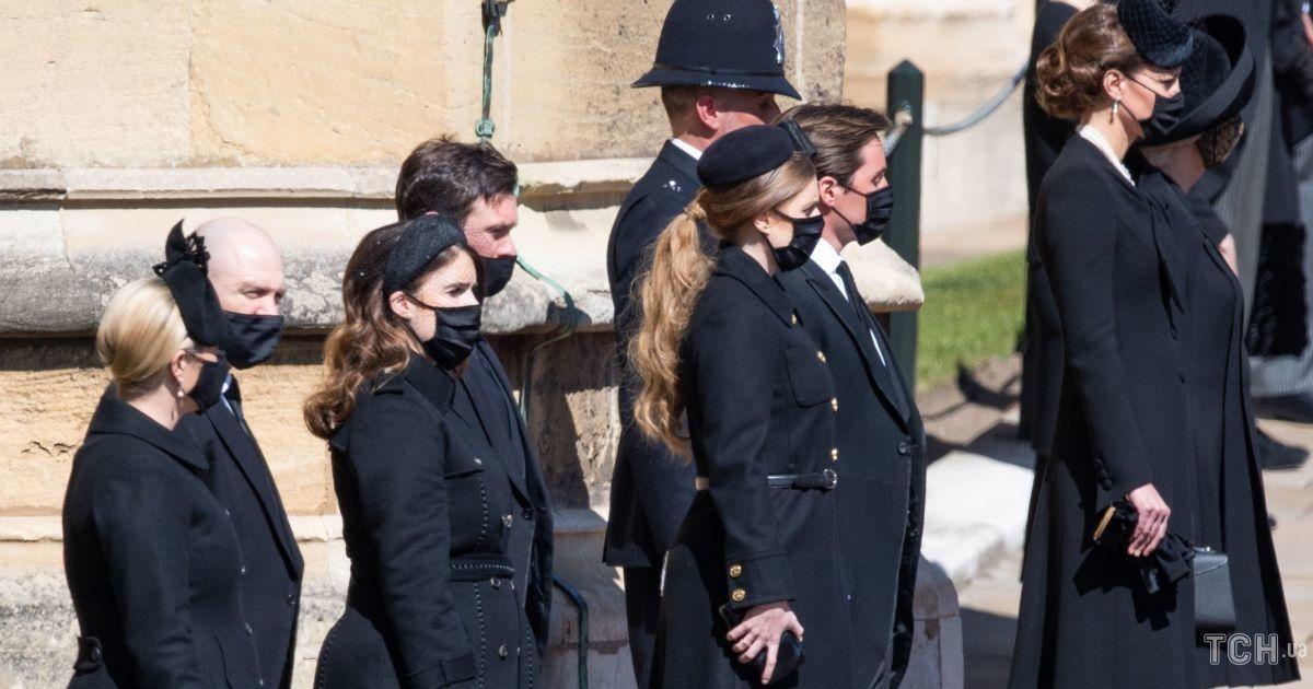 Елизавета II, Камилла, Кейт и Софи: королевские образы на похоронах принца Филиппа