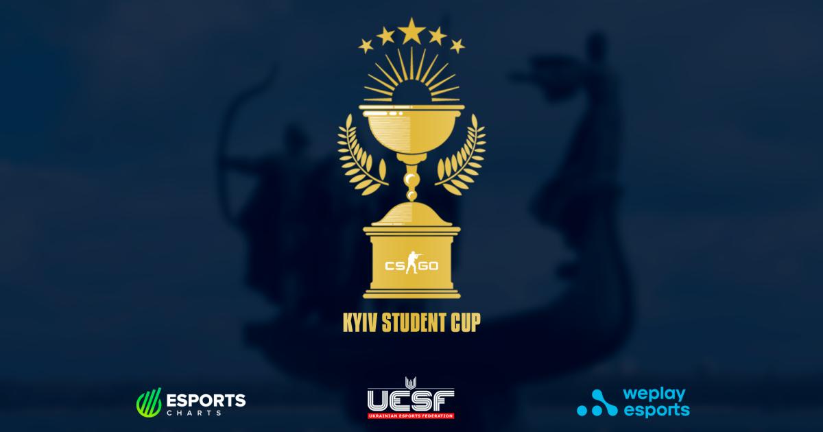 Команди від 16 столичних ВНЗ візьмуть участь у Студентському кубку Києва з CS:GO від UESF і WePlay Esports