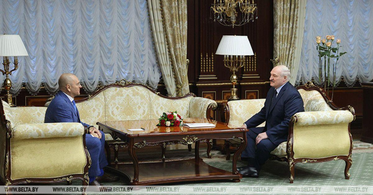Скандальний нардеп Шевченко у Білорусі проводить зустріч із Лукашенком