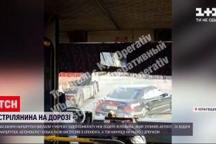 Новости Украины: в Черниговской области водителю маршрутки прострелили ногу во время спора