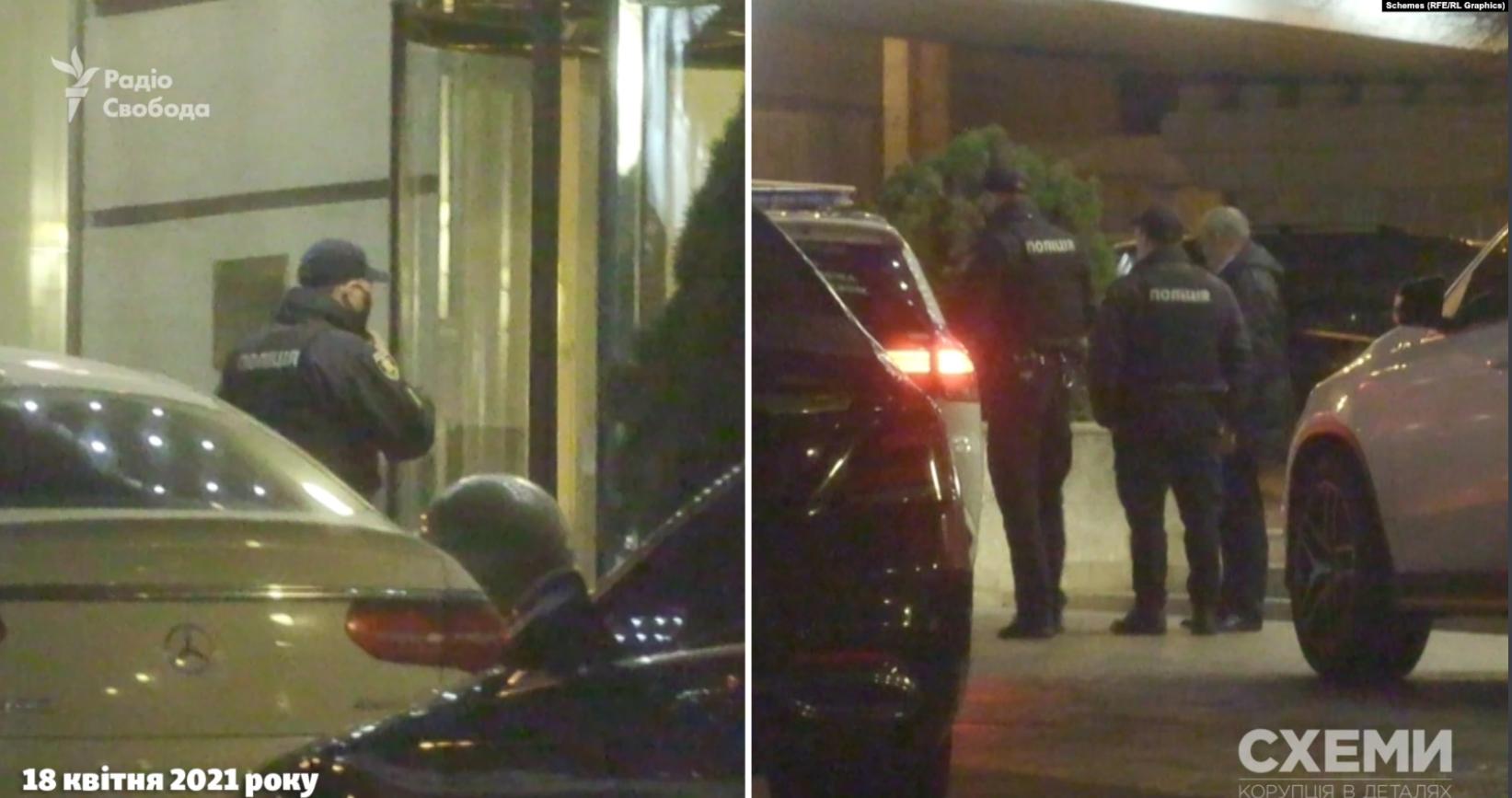 Поліція в отелі, де Тищенко влаштував вечірку