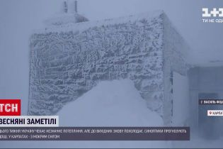 Новости Украины: в высокогорье Карпат бушует непогода