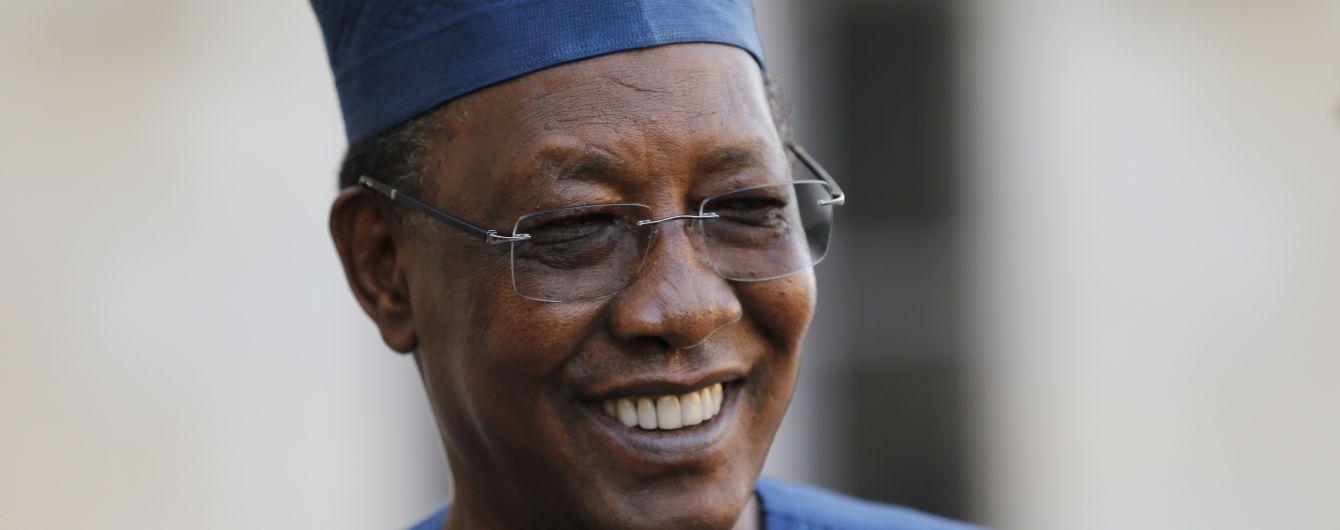 Помер президент Чаду: його вбили повстанці після чергової перемоги на виборах